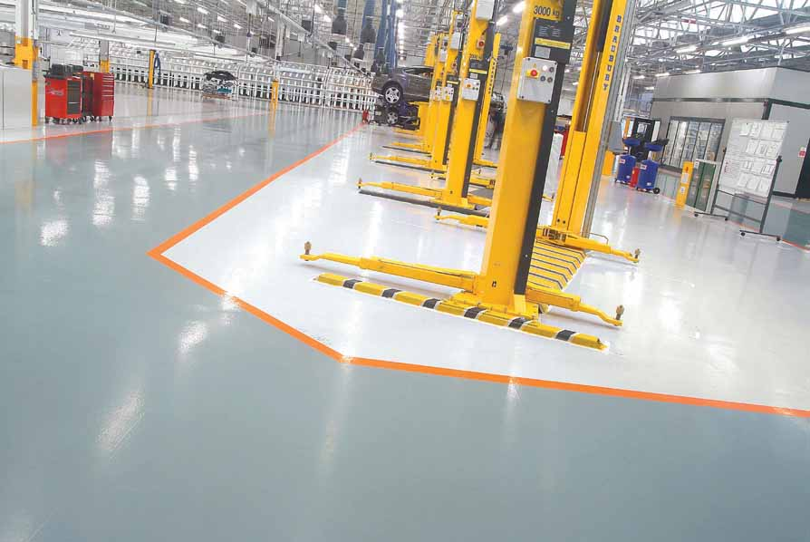 Resin Floor Systems Birch Screeding