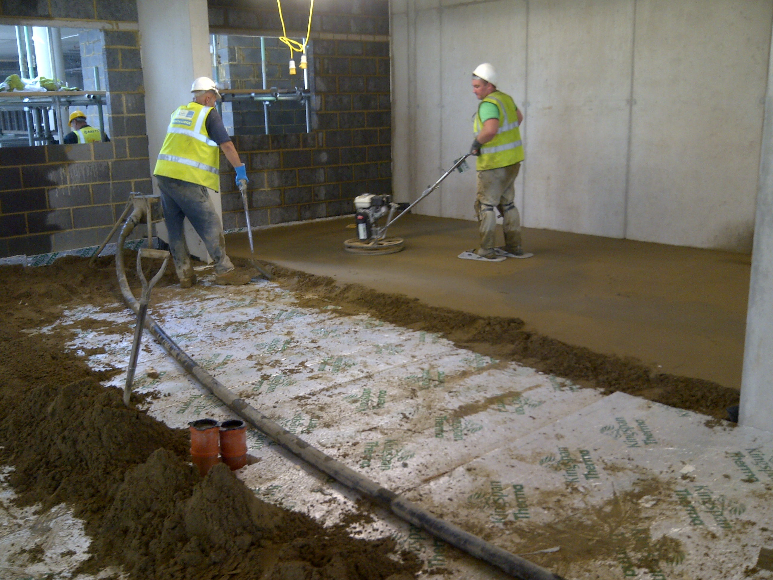 Screeding Bathroom Floor Ccs Complete Screed Works To 700 Bed Student Accomadation Project
